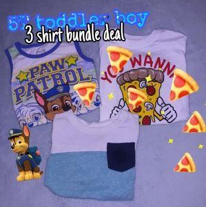5T boy shirt bundle 🐶💙